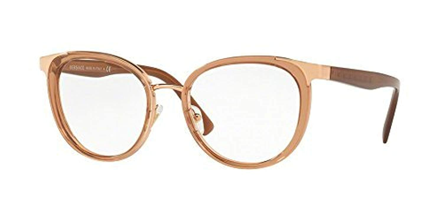 14005da9c0 Amazon.com  Versace Women s VE1249 Eyeglasses 52mm  Clothing