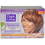Moisture Seal Plus Shea Butter No-Lye Relaxer Kit Color Treated Hair Color Women by Dark And Lovely, 1 Count