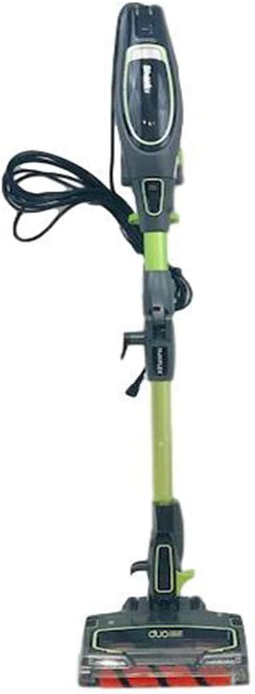 Shark Flex DuoClean HV394Q Corded Ultra-Light Stick Vacuum for Upholstery, Carpet, Hard Floor, Anti-Allergen Dust Brush, Deep-Cleaning Motorized Pet - Multi-Tool HV394QGR (Renewed) (Green)