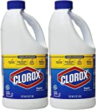 CONCENTRATED Clorox Regular Bleach 64 oz - 2 pack (128 oz total)