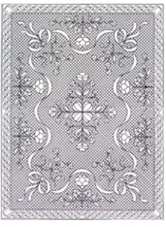 Amazon.com: PRE PRINTED WHOLECLOTH QUILT TOPS WITH BINDING GARDEN ... : whole cloth quilt kits - Adamdwight.com