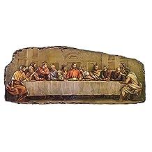 """Roman 18.5"""" Resin Last Supper Plaque"""