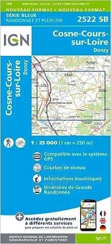Lire en ligne 2522SB COSNE COURS-SUR-LOIRE DONZY pdf, epub ebook