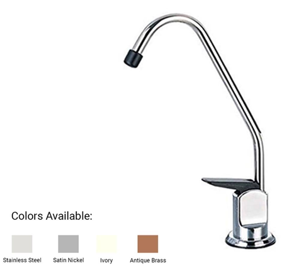 Series 1 Water Faucet for Any Water Filtration System or Reverse Osmosis System … (Satin Nickel)