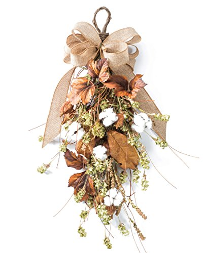Cotton & Hops Artificial Swag - Decor Swag