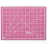 "US Art Supply 9"" x 12"" PINK/BLUE Professional Self Healing 5-Ply Double Sided Durable Non-Slip PVC Cutting Mat Great for Scrapbooking, Quilting, Sewing and all Arts & Crafts Projects"