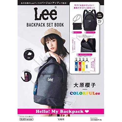 Lee BACKPACK SET BOOK BLACK version 画像