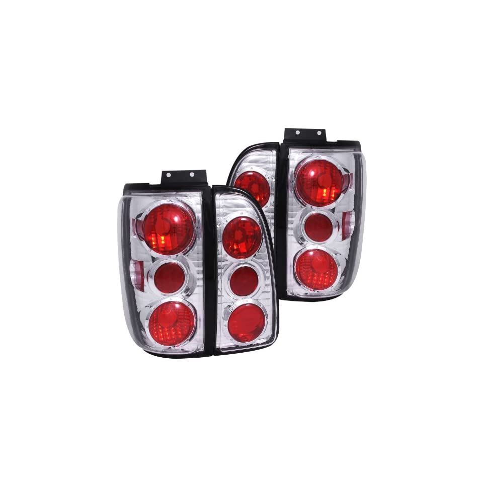 Anzo USA 211109 Lincoln Navigator Chrome Tail Light Assembly   (Sold in Pairs)