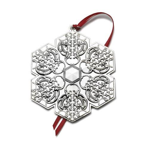 Wallace 2010 Grande Baroque Snowflake Ornament (13th Edition)