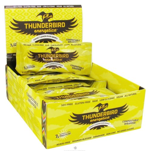 Thunderbird Energetica Bars - Lemon Rain Dance - 1.7 oz