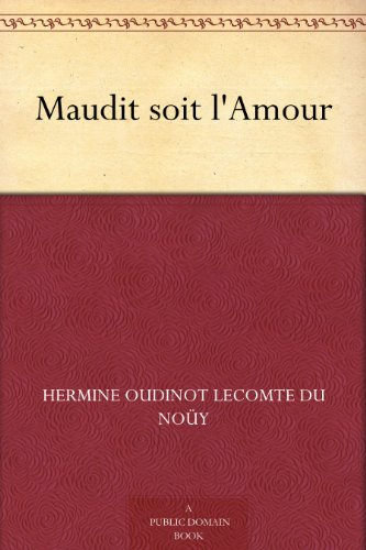 maudit-soit-lamour-french-edition