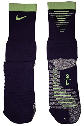 Price comparison product image Nike Adult Grip Strike Cushioned Crew Socks Size 8-9.5/9.5-11