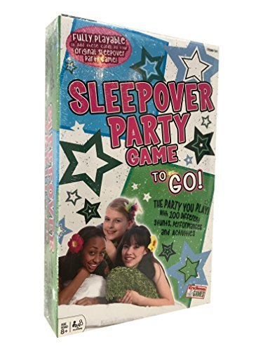 Sleepover Party Game To Go! (Slumber Party Game)