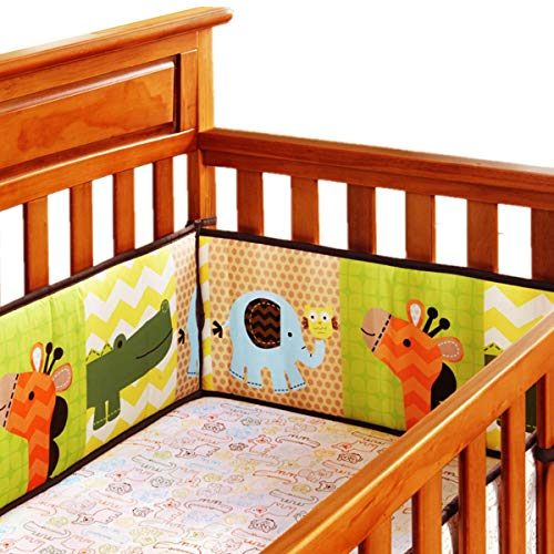 Compare Price Yellow Bumper Pads For Crib On