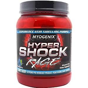 Myogenix - Hypershock Rage - Orange, , 880 g powder