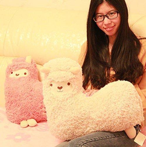 Crazy Genie Llama Alpaca Hug Plush Pillow Cushion Soft Toy Doll Furnishing Gift (Alpaca Pillows)