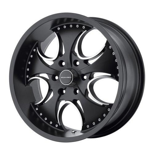 "KMC Wheels Venom KM7557 Matte Black Machined Wheel (20x8.5""/6x139.7mm)"