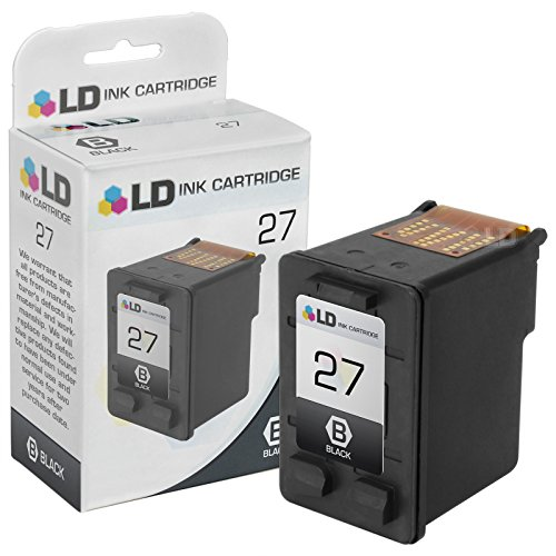 LD Remanufactured Replacement Ink Cartridge for Hewlett Packard C8727AN (HP 27) Black
