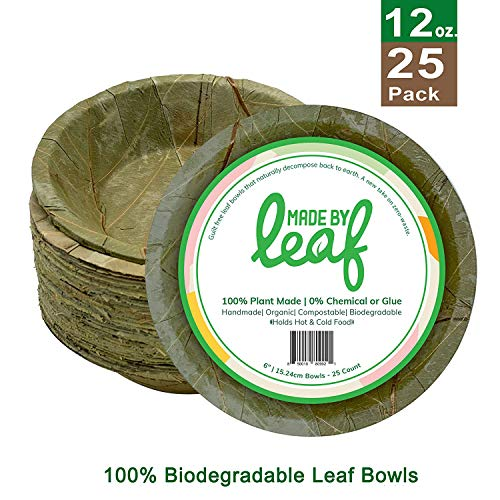 ZenCo Bagasse Round Plates 50 Count, 7 Inch 50 Pack 7 White Disposable Natural Sugarcane Fiber Heat Resistant Eco Friendly Paper Alternative Plates