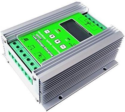 Controlador de carga solar de turbina de viento de 1000 W, controlador híbrido de 600 W de viento y panel solar de 400 W, 12 V/24 V, auto distintivo