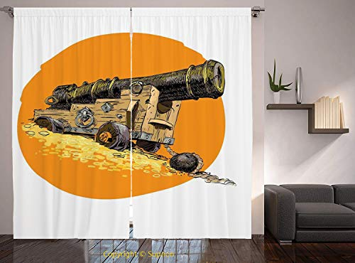 Used, Living Room Bedroom Window Drapes/Rod Pocket Curtain for sale  Delivered anywhere in USA