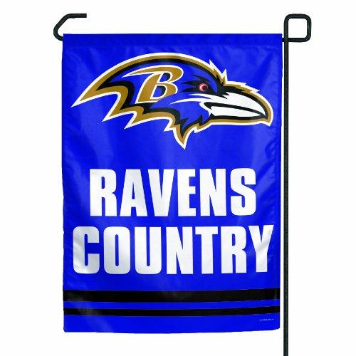 WinCraft NFL Baltimore Ravens Garden Flag