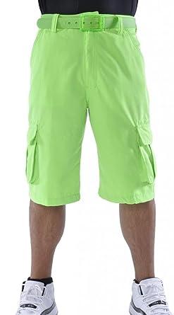 Amazon.com: Akademiks Men's Neon Cargo Shorts: Clothing