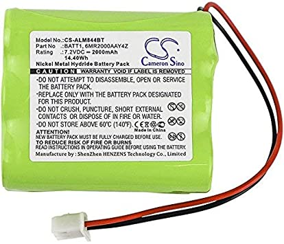 BATT1X 2gig Ni-MH Battery Pack Replacement for Security Control Panel