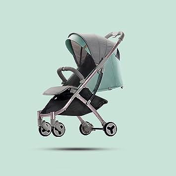 LANA Los carros de bebé Pueden Sentarse Horizontal Plegable ...