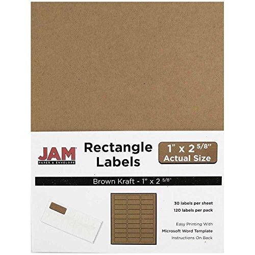 Kraft Address Labels - 1