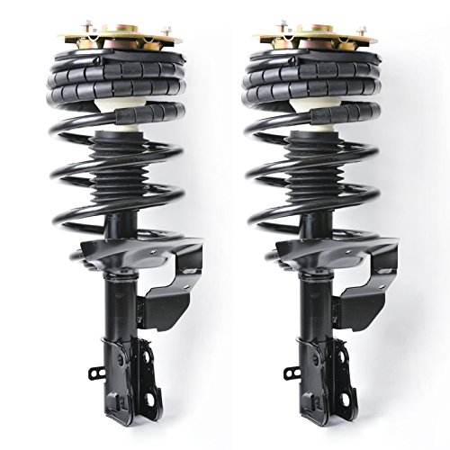 Mingyue 2pcs For 90-96 Chevy Lumina APV & 95-96 Chevy Lumina Van and 90-96 Olds Silhouette and 90-96 Pontiac Trans Sport Front Complete Suspension Gas Shock Absorber Strut & Springs Assembly