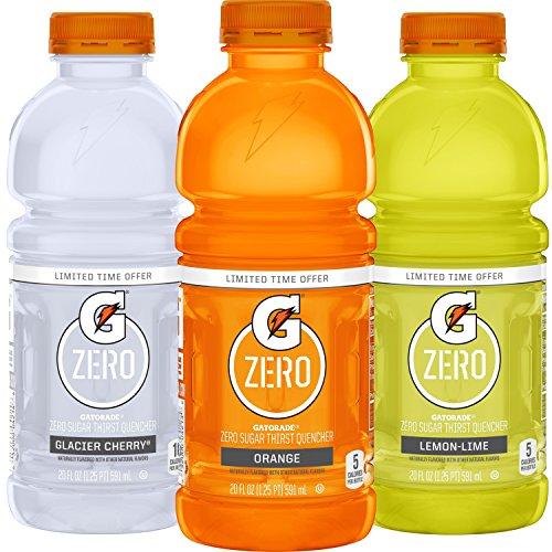 Gatorade Zero Sugar Thirst Quencher, 20 Ounce Bottles 85¢ Each