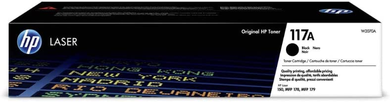 Hp 117a W2070a Original Toner Für Hp Color Laser Schwarz Bürobedarf Schreibwaren