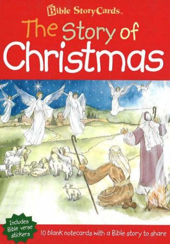 Story Card Christmas - Story of Christmas: Portfolio of Cards (Bible Storycards)
