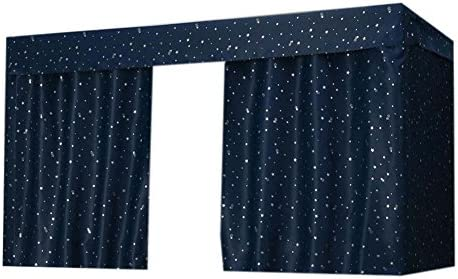 PANDA SUPERSTORE 1 Piece Dormitory Shading Cloth Privacy Curtain for 1.2m Bed,Stary Sky