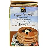 365 Everyday Value Organic Whole Wheat Buttermilk Pancake & Waffle Mix, 2 lb