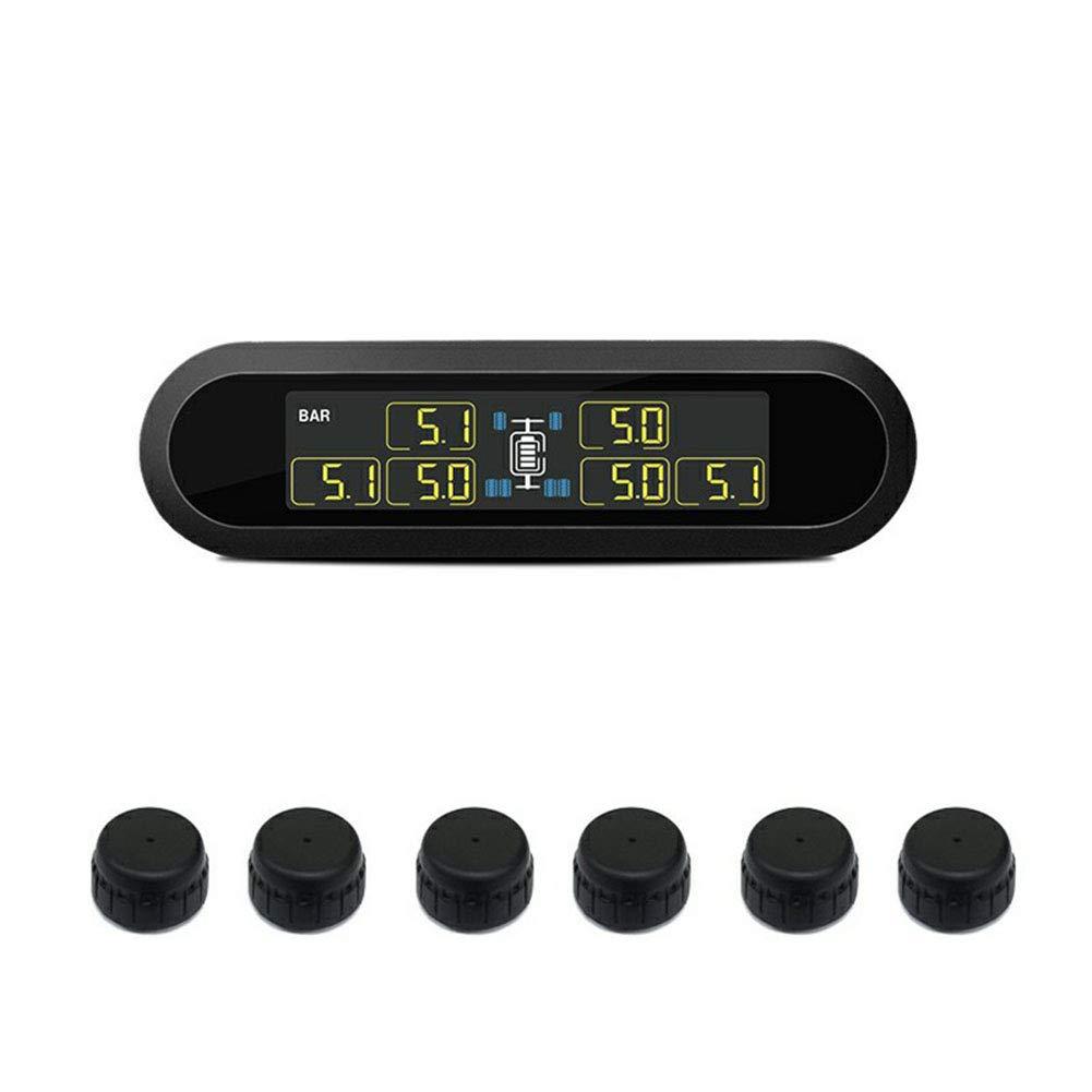 TPMS Reifendruckkontrollsystem Super LCD Universal fü r 6 Rad Bus Van mit 6 Sensoren LanLan