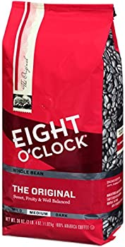 Eight O'Clock The Original Whole Bean Coffee 36 oz. Bag
