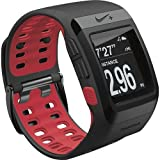 NIKE+ SPORTWATCH GPS POWERED BY TOMTOM BLACK AND RED