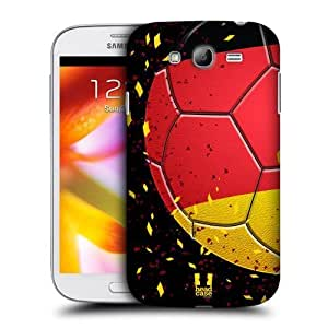 AIYAYA Samsung Case Designs Confetti Football Ole Protective Snap-on Hard Back Case Cover for Samsung Galaxy Grand I9082 I9080