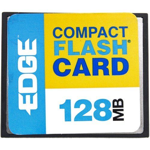 EDGE Tech Corporation 128mb Edge Premium Compact Flash Card (c - Edge Premium Compactflash Card