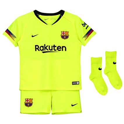 low priced b982f e15bd Amazon.com : Nike 2018-2019 Barcelona Away Baby Kit : Sports ...
