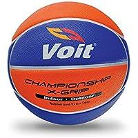 Voit T5394 Xgrip Basketbol Topu N: 5 Unisex, Sarı/Lacivert, Tek Beden