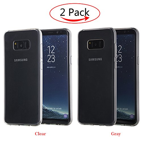 genting-digital-samsung-galaxy-s8-plus-case2-pack-scratch-resistantsoft-tpu-material-s8-plus-clear-c