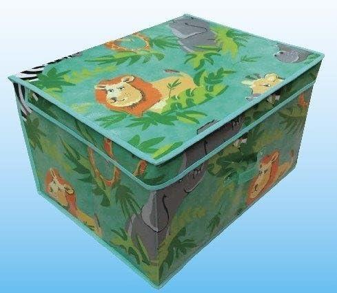 Safari Plegable Pop Up habitación Organizador Pecho Caja de Almacenamiento para niñas y niños, Tela, Verde, 50 x 30 x 40 cm: Amazon.es: Hogar