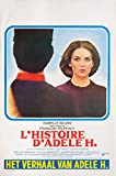 The Story of Adele H 1975 Belgian Poster