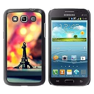 YiPhone /// Prima de resorte delgada de la cubierta del caso de Shell Armor - Macro Hipster Retro Eiffel Tower - Samsung Galaxy Win I8550 I8552 Grand Quattro