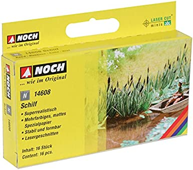 Noch 14608 Reed 16// N Scale Model Kit