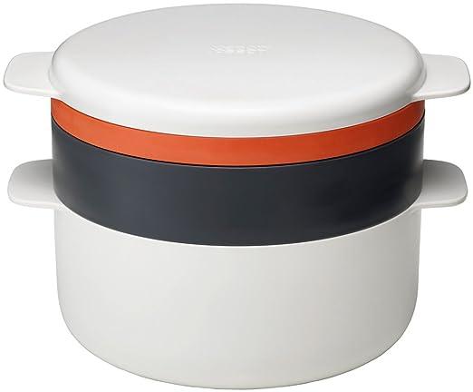 5 opinioni per Joseph Joseph Microwave Set di Pentole, Plastica, Bianco