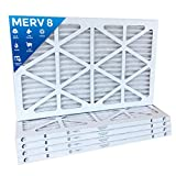 16x24x1 Merv 8 Pleated AC Furnace Air Filters. Box of 6